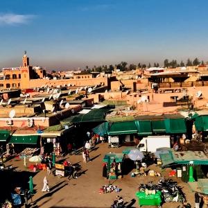 Marrakesch Jamaa al Fna