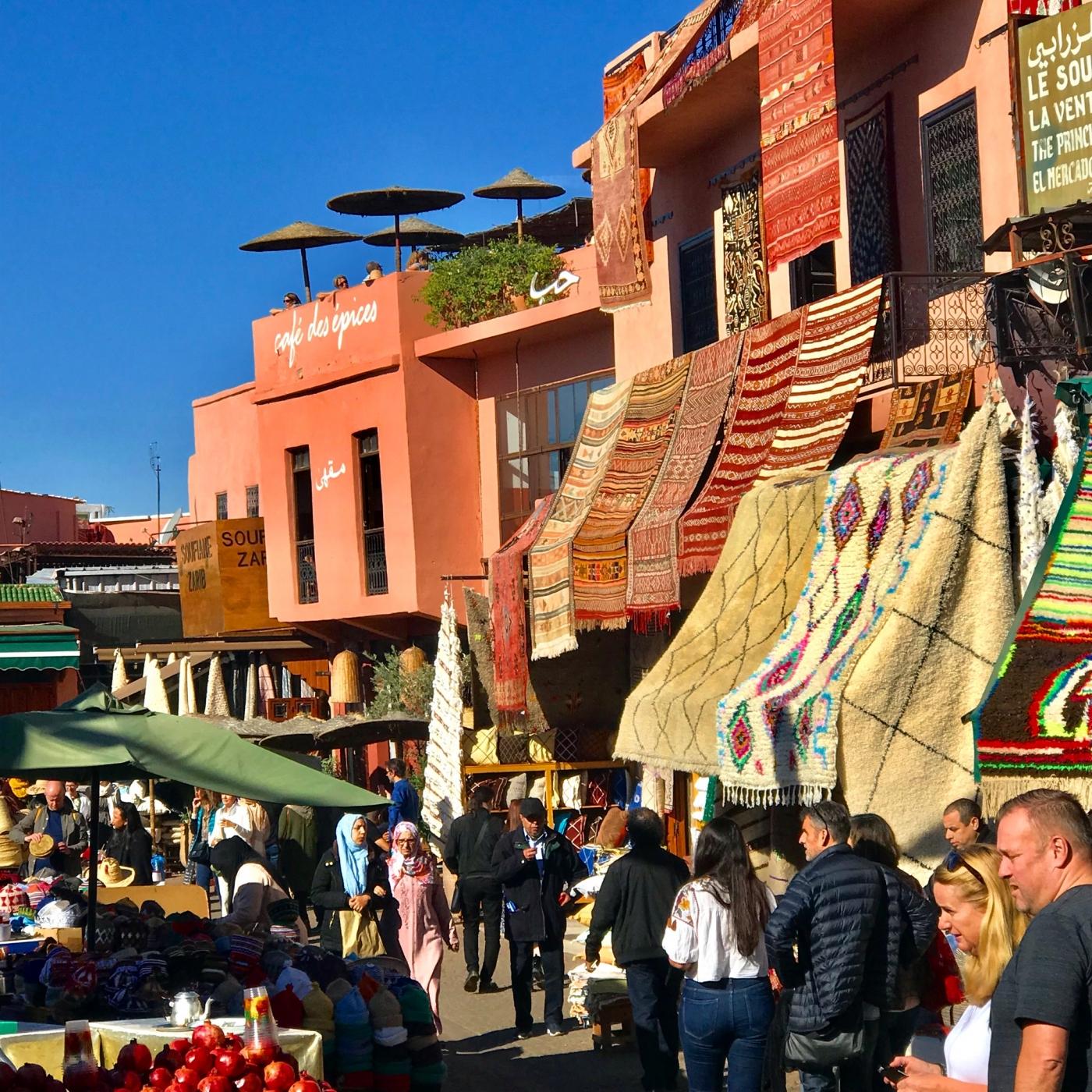 Marrakesch - Place des Epices