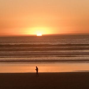 Sunset Agadir, Marokko